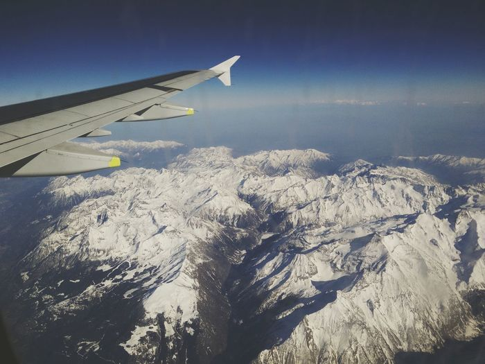 Alpen Fliegen