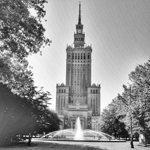 Warsaw Varşova Poland Polonya Palaceofcultureandscience TallBuilding