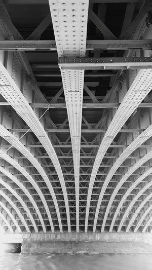 Full frame shot of bridge in city