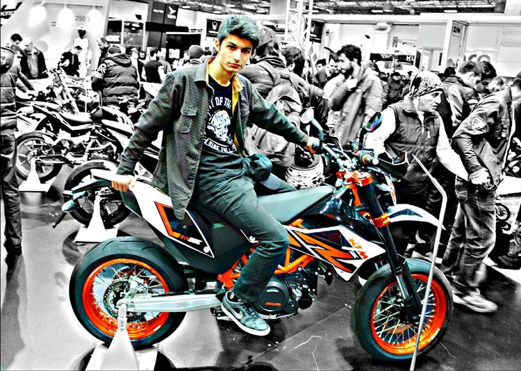 Ktm Motorcycles SupermotoMotoexpo That's Me Anarchy HDR