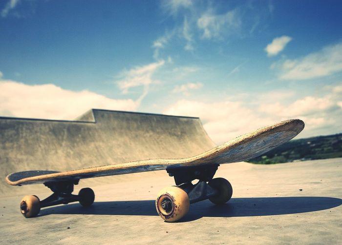 Relaxing Enjoying Life Radical Sport Hello World Skate