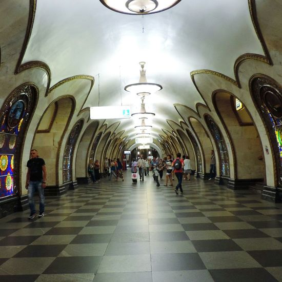 Moscow Subway Europe Summer Russia Europe Art Architecture