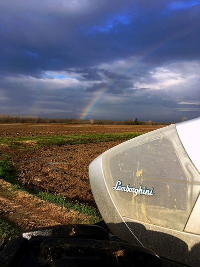 Arcobaleno 🌈 Agricultural Machinery Machinery Agriculture Field Nature No People Rural Scene Sky Cloud - Sky EyeEmNewHere