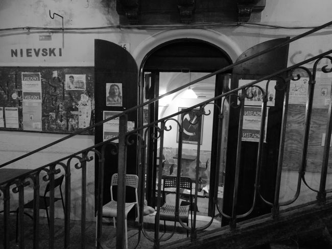 Doors With Stories Light And Shadow Leica Huawei P9 Corner Shop Arquitecture Catania, Sicily Object Photography Drinking Wine Booking A Room Capture Time Illumination Watching People
