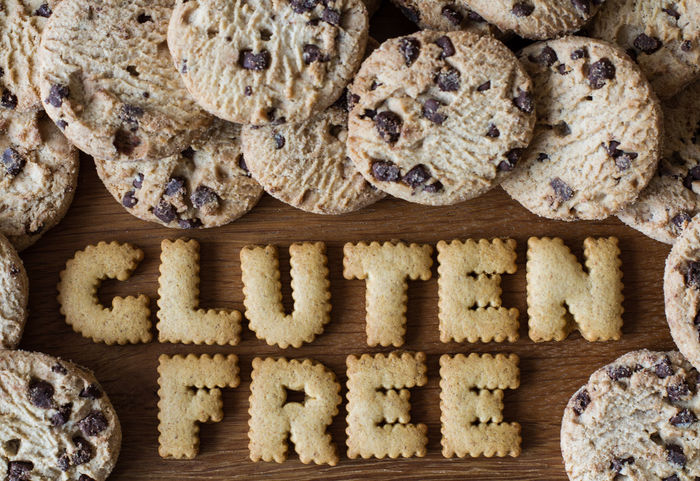The phrase Gluten Free created from alphabet shaped cookies with gluten free biscuits and on a wooden background. Advice Alphabet Baked Baking Biscuits Bread Breads Cookies Food Food Advice Food Porn Foodporn Gluten Gluten Free Glutenfree GlutenFreeFood Glutenfrei Healthy Healthy Eating Healthy Food Healthy Lifestyle Indoors  Wooden Wooden Background Words