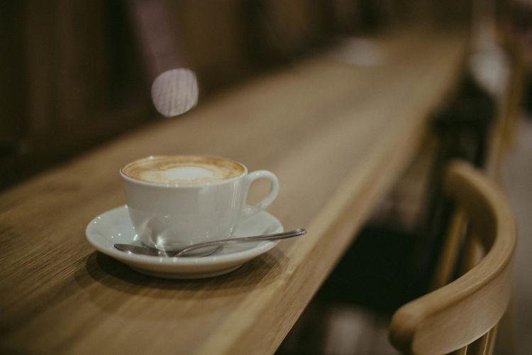 Brown Color Capuchino Close-up Coffee - Drink Coffee Cup Coffeeshop Coffeetable Day Drink Focus On Foreground Hipster Indoors  No People Refreshment