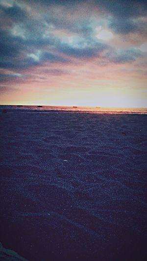 Beach📸🌊🌅 Sunset Sky Tranquility Beach