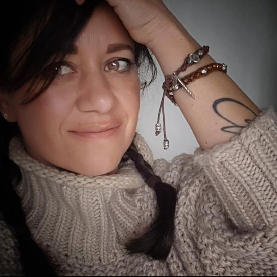 Proudness Handmadebracelet Handmadejewellery Bracelet One Person Women Portrait Looking At Camera Adult Beauty Indoors  Jewelry Close-up Lifestyles Females Front View Warm Clothing Real People Sweater Headshot Clothing