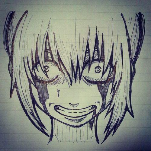 ボールペン一発落書き Anime Comic Gintama Kagura Illust 漫画 銀魂 神楽 絵