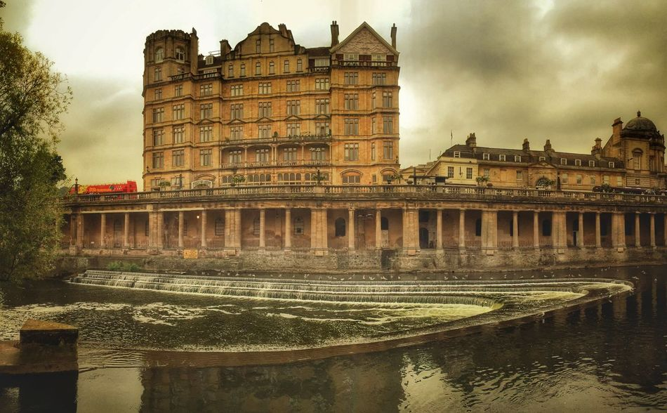 The old theatre Bath Uk Architecture Building Exterior Historic Waterfront