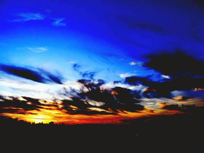 Rural Scene Landscape Outdoors Tranquility Sky Nature Beauty In Nature Silhouette Scenics Tranquil Scene Sunset Idyllic Low Angle View No People Cloud - Sky Day First Eyeem Photo