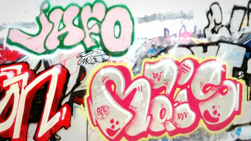 Graffiti, Painting, Street, Street photography, Art by Noname Artist, Getting In Spired.