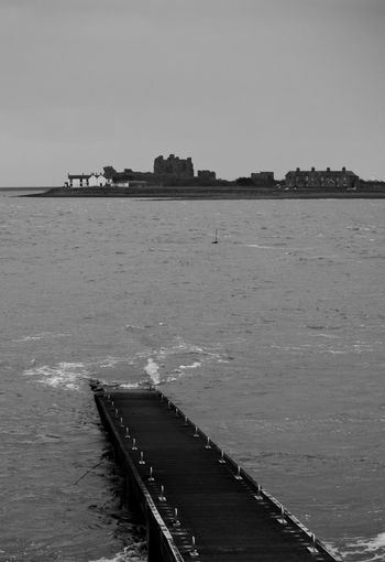 Black And White Photography Black And White Photography Themes Sea Beach Point Of View Sky Horizon Over Water Landscape Jetty Coastal Feature Seascape Coastline
