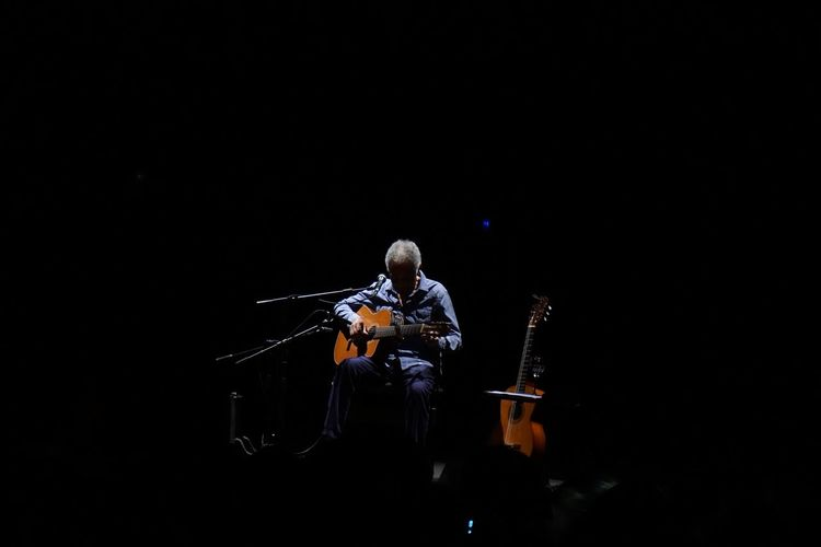Arts Culture And Entertainment Brazilian Singer, Guitarist, And Songwriter Cesena Gilberto Gil Music Musical Instrument Teatro Verdi Di Cesena First Eyeem Photo