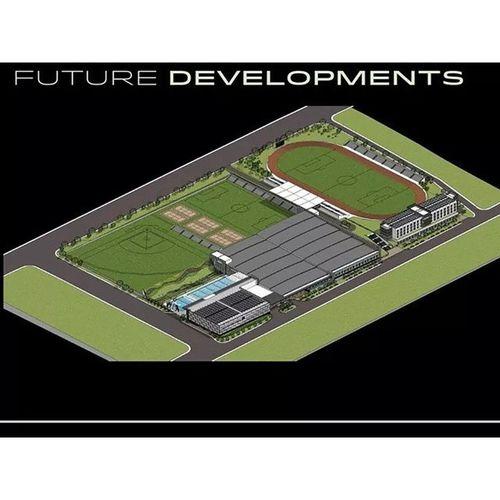 via Facebook account of DLSU Manila President Br Ricky Laguda FSC: Track Oval and Football Field at DLSU STC ⚽⚽⚽?? . . . Sbspotlight Soccerbible DLSU Dlsustc delasalleuniversity