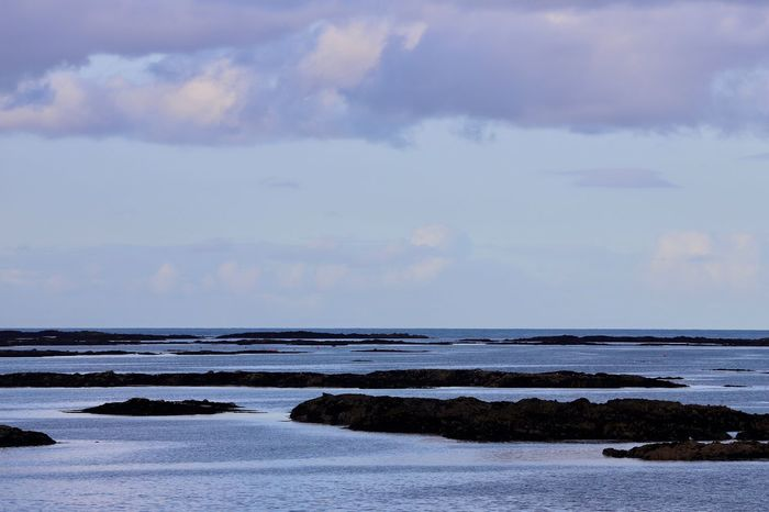 Sea Sky Water Cloud - Sky Scenics - Nature Land Beauty In Nature Horizon Over Water Tranquil Scene Horizon Tranquility No People