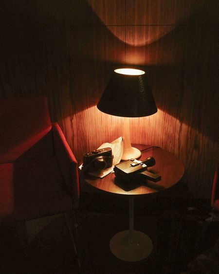 Instagram @anna_ekomasova ✨ 70's EyeEmNewHere The Week Of Eyeem Indoors  Illuminated No People High Angle View Full Frame Close-up Lighting Equipment Shadow Orange Color Red Light