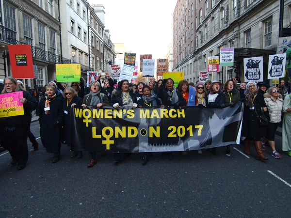 """Women's March On London. 21/01/2017 Protest against Donald Trump (American President?) Following his """"Grab Them By The Pussy."""" Comments, which many women have not surprisingly found offensive. Many other issues with the new president were covered too, also many men took part in this protest. So today they took to the streets around the planet to protest against President Trump? Here are the shots from the London Womens March........ Donald Trump Equal Rights  Equality Equality For All Grabthembythepussy Journalism News Olympus Pretty Protest Protesters Sexism Steve Merrick Stevesevilempire Trump Women Womens March London Womens Rights Womensmarch Zuiko"""