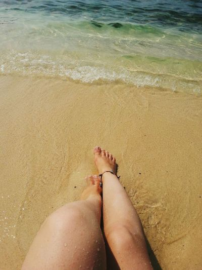 Beach Water Human Leg Vacations One Woman Only Human Body Part Sea Enjoying Life Nature_collection My World Hello World That's Me Connected With Nature Nature Venezuela Relaxing Color Photography Beautiful Nature This Is My Life Quality Time Caribbean Sea Life Is A Beach