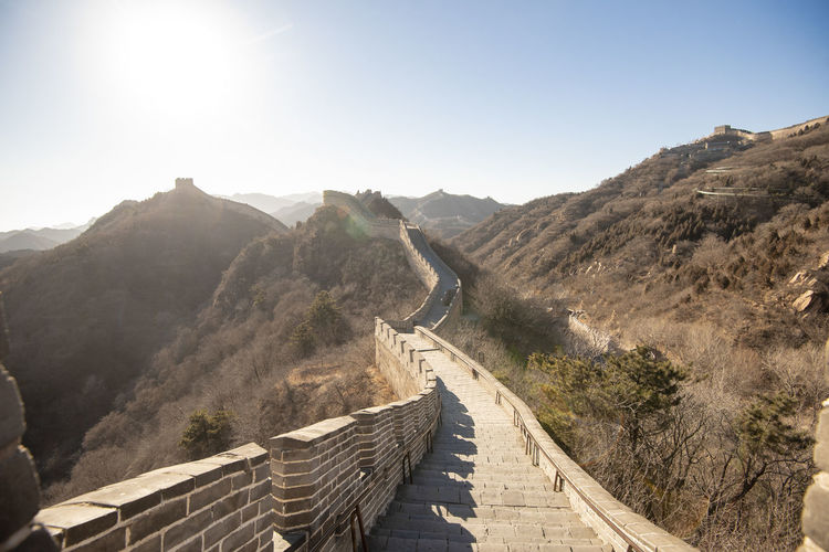 Nature Sky Day Architecture No People Great Wall Of China