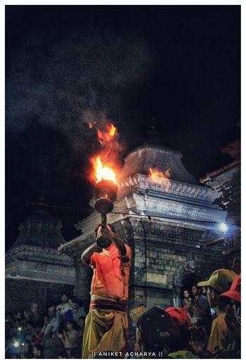 || Evening Aarati of Pashupatinath || Flame Burning Pashupatinath Temple Pashupatinath Heritage Site Nepalese Beauty Nepal8thwonder Nepal Travel World Heritage Kathmandu City Nepal Temple Beautiful Nepal Travel Destinations Aarati Puja Worshiping God EyeEm Selects