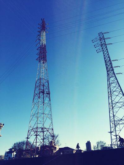 今日はとてもいい天気ですね。 Enjoying Life Enjoying The Sun Walking Around Blue Sky
