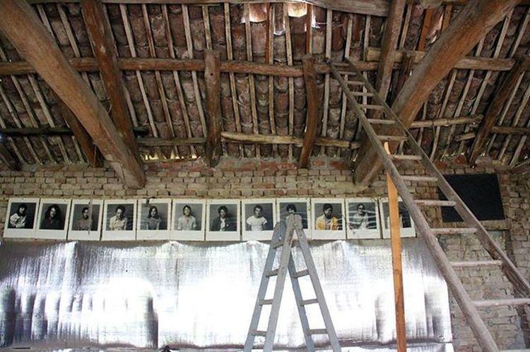 Casa Interno Fotografo Sottotetto Soffitto Foto Scale