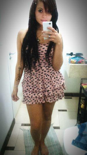 Braziliangirl Morena ❤ Blackhair Curitiba Vestido  Faces Of EyeEm Tattoo
