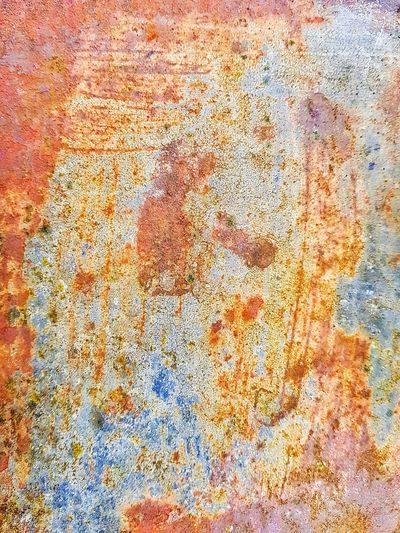 Hamburg, Finkenwerder Rust Rusty Metal Weathered Abstract Photography Scratches Scratched Crackles Crackled Crackle Backgrounds Full Frame Textured  Pattern Abstract Multi Colored No People Day Outdoors
