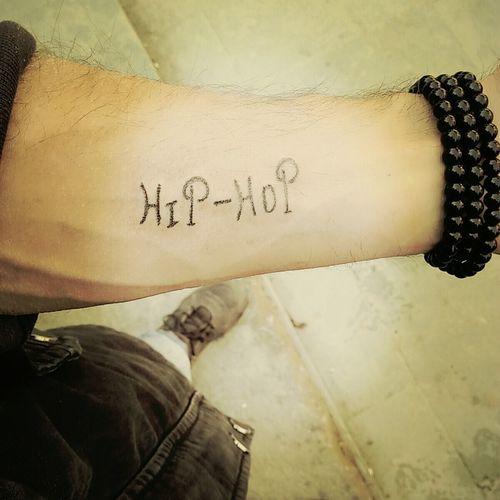 Tattooed Tattoos Hip Hop Dancer Lifestyles