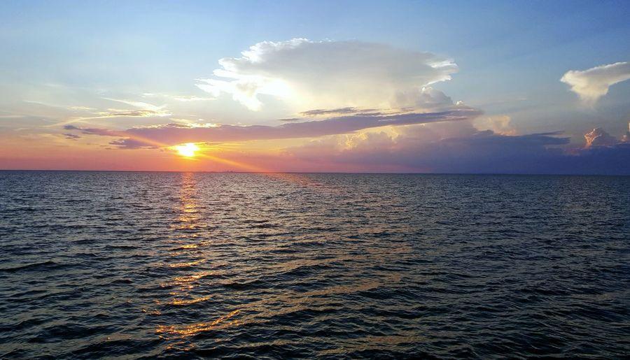 Mobilebay Fairhope Pier Sunset