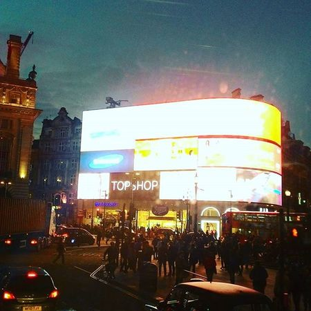 Good evening London London Londonphotography Piccadillycircus Lights Centrallondon