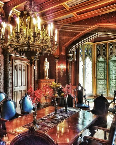 Famous Place Tourism Architecture Dining Castle Tarrytown Travel Destinations Architectural Feature Decoration Indoors  First Eyeem Photo