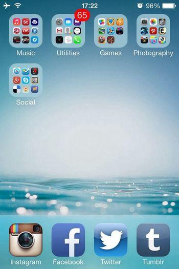 IOS 7 Wallpaper IPhone 4 Iphone4