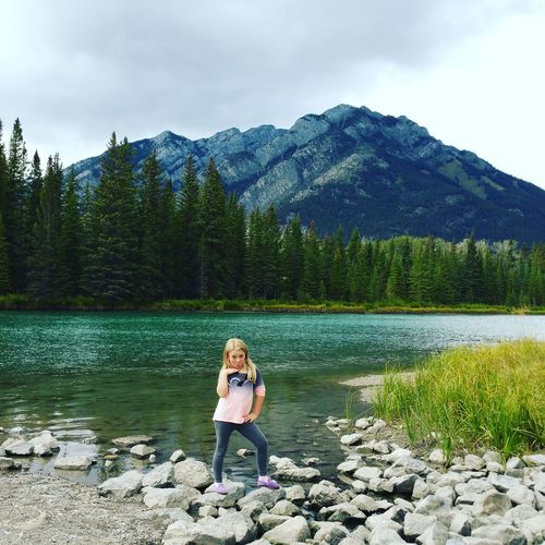 Earth And Sky Camping Hikingadventures The Great Outdoors - 2016 EyeEm Awards Crystal Clear Chasinglife! Earthporn Sky And Clouds Posing Selfie ✌ Smile ✌ Water Reflections Rocks And Water Vacation Daughter Summer ☀ Alberta Family❤ Nature Photography Canada