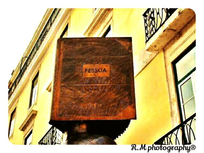Built Structure Portugal History Statues And Monuments City Fernandopessoa Poet