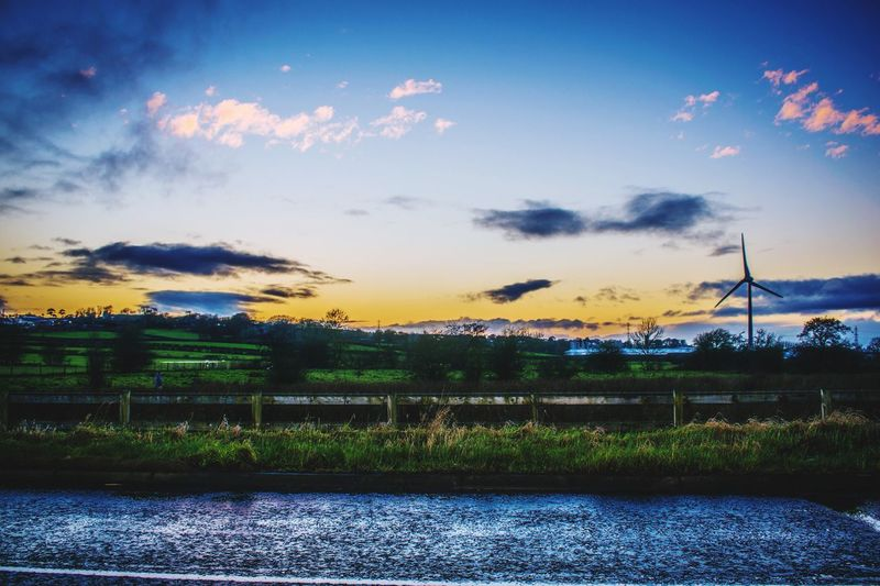 Neighborhood Map Belfast Northern Ireland Nature Lake Scenics Beauty In Nature Tranquility Tranquil Scene Sunset Outdoors Landscape Grass Cloud - Sky Tree Day Roadside Beauty In Nature Outdoors Photograpghy  EyeEmBestPics EyeEm Best Edits Landscapes
