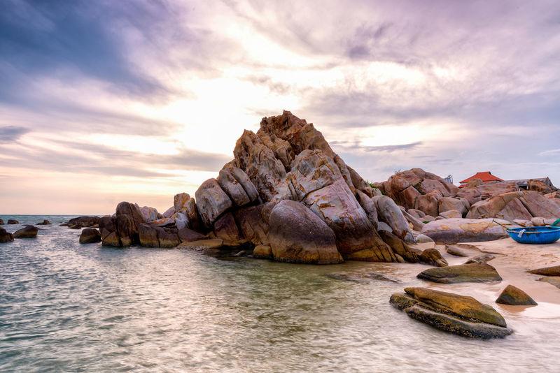 Phan Thiet beach, Binh Thuan, Vietnam Beach BINH THUAN Blue Coast Ke Ga Landscape Lighthouse Nature Nui Ne Phan Thiet Seascape Sky Summer Tourism Tower Travel Vietnam
