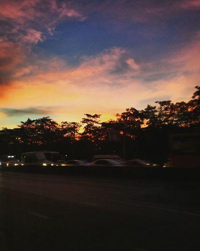 Sunset Tree Sky Cloud - Sky Outdoors No People Dramatic Sky Nature
