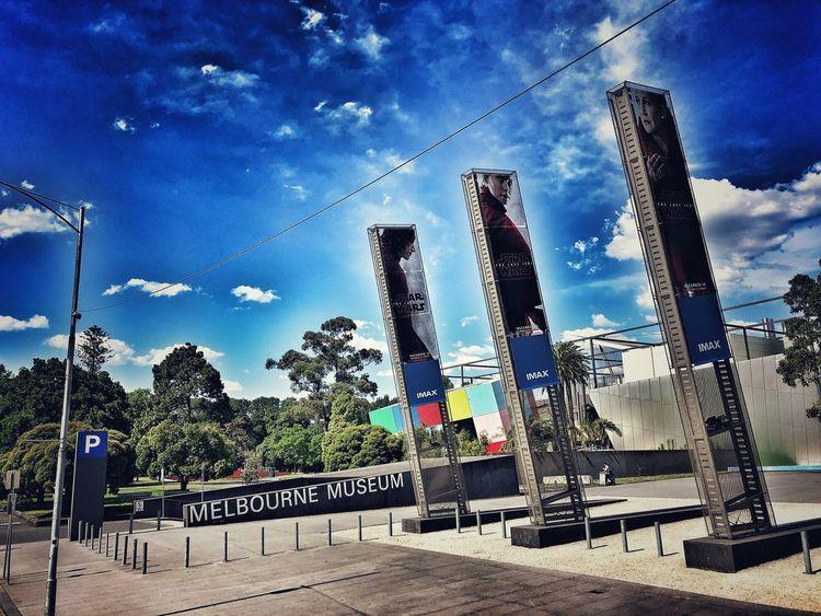 Museum Time Melbourne Museum Melbourne Sky Text Cloud - Sky Communication Day Transportation Tree