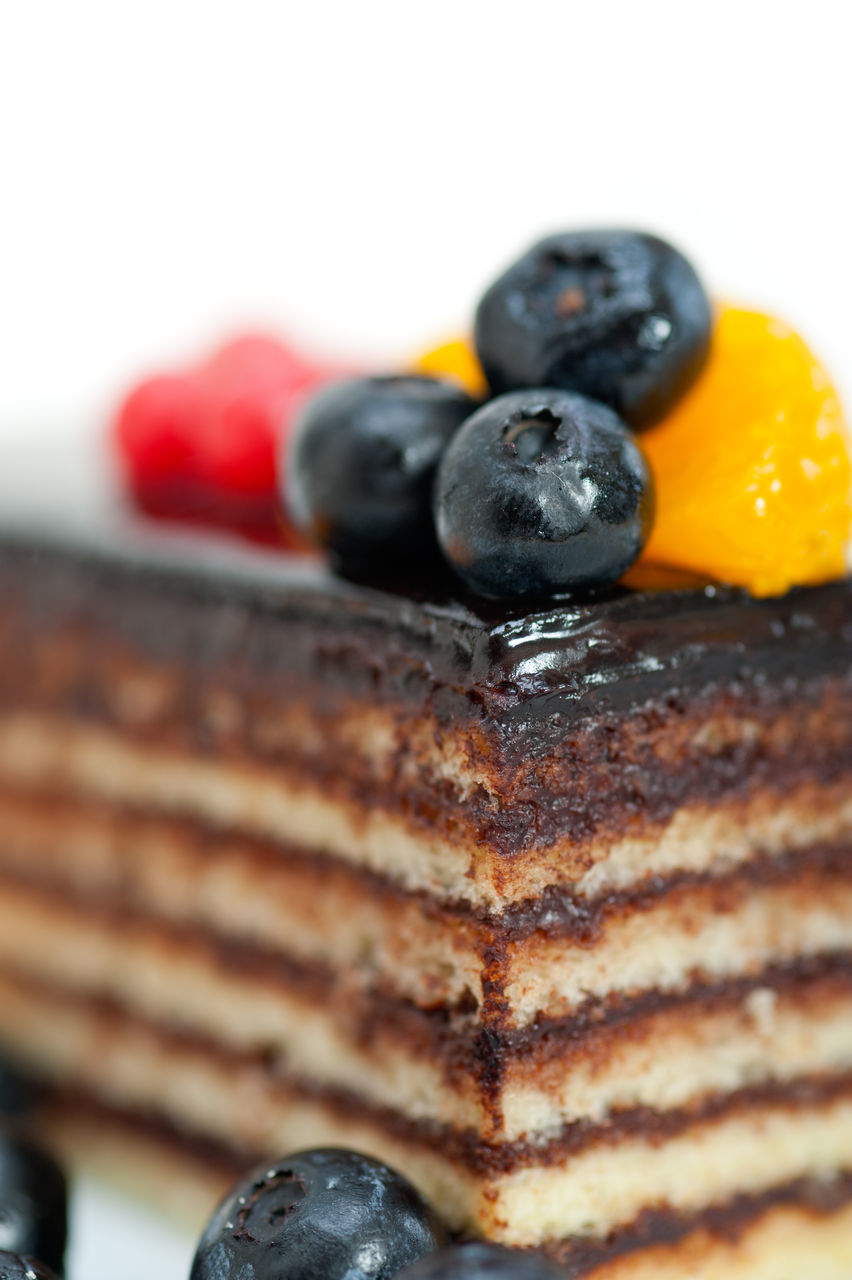 Close-Up Of Cake Slice