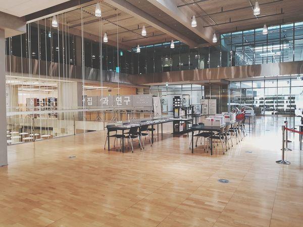 Modern interior Interior Design Modern Asian Culture Center Gwangju