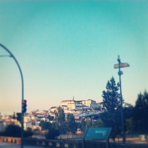Adeus Coimbra, até um dia! Coimbra Cidadedosestudantes Curso Faculdade Universidade Universidadecoimbra Paisagem Cabra Landscape Esec Escolasuperiordeeducação