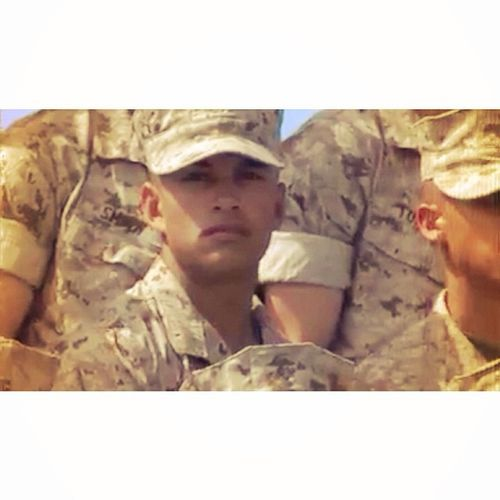 I took a screen shot of a video that was posted of Jack's Platoon! I just about cried when I saw his face! I miss him so much and in just one more week I'll be able to see him in person. I am so incredibly proud of this man. I'm so lucky to call my own brother, my hero❤️ Littlebrother Myhero Recruitwiker Marinebootcamp soproud If you wanna see the whole vide, add Mike Co, 3rd Battalion MCRD San Diego: April 25, 2014 on Facebook! He is Platoon 3275