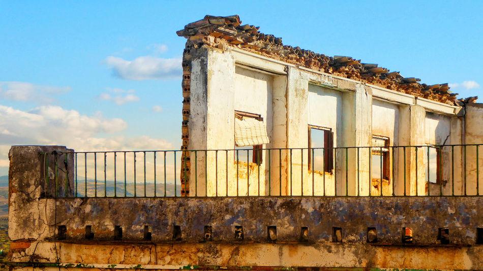 Old buildings in Olvera, Spain Olvera Spain Pueblos Blancos Deterioration Weathered Damaged Broken Old