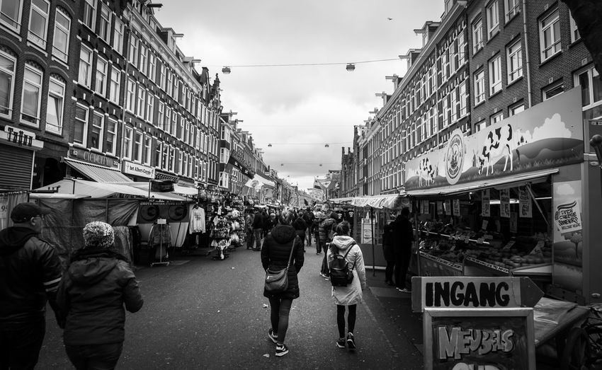 Albert Cuyp Market in Amsterdam. Hanging Out Taking Photos Your Amsterdam Showcase April Spring City Urban Amsterdam Traveling Streetphotography Urbanphotography Blackandwhite EyeEm Best Shots EyeEm Best Shots - Black + White Monochrome Up Close Street Photography The Street Photographer - 2016 EyeEm Awards Found On The Roll