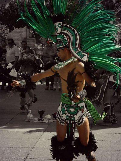 Quetzalcoatl Streetphotography Danzantes Colorsplash Leslie_Gr_In Mexico