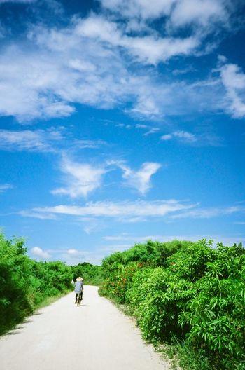 Blue Wave EyeEm Nature Lover Okinawa Ishigaki Island Travel Photography Traveling Film 135mm Blue Sky EyeEm Best Shots