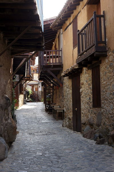 Street of Kakopetria village. Architecture Built Structure Charming Cyprus Kakopetria Narrow No People Old Old Buildings Outdoors Stones Street Streetphotography Travel Travel Destinations Travel Photography Village