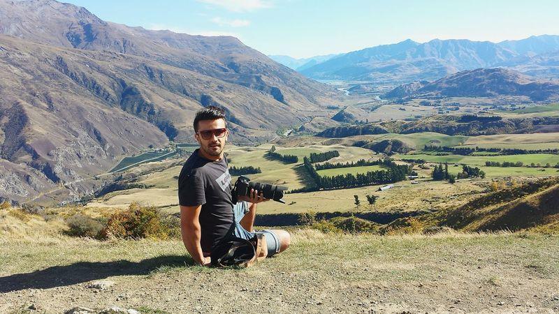 Selfportrait New Zealand Scenery New Zealand Beauty Landscape Traveling Queenstown